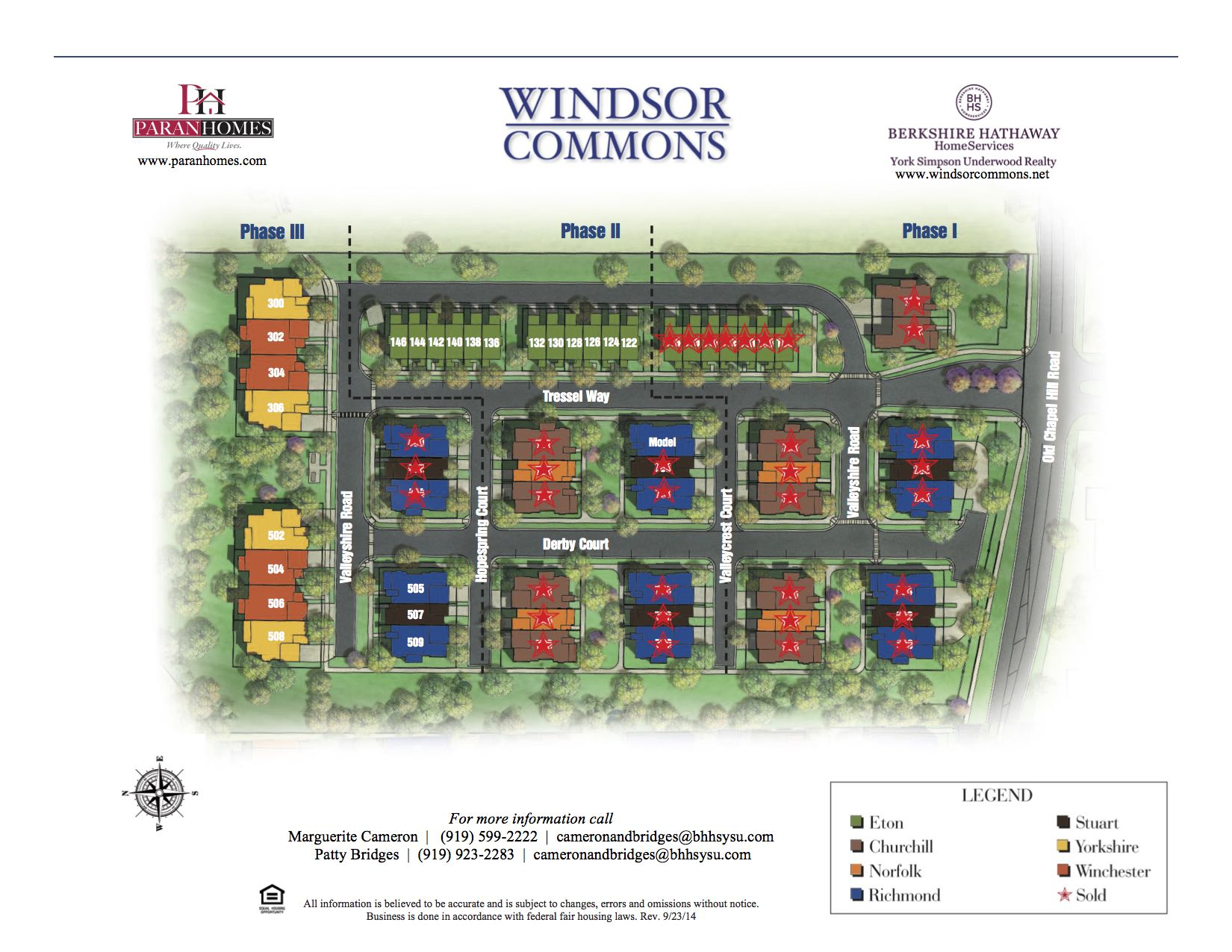 Windsor Commons Site Plan